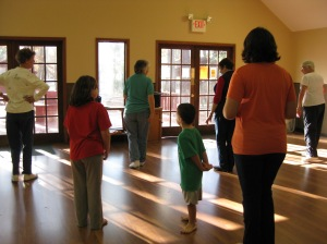 beginners line dancing class