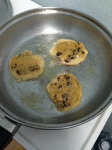 chocolate chip stove cookies