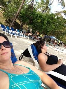 lounging :)